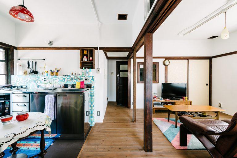 大阪最古のRC住宅のリノベーション事例